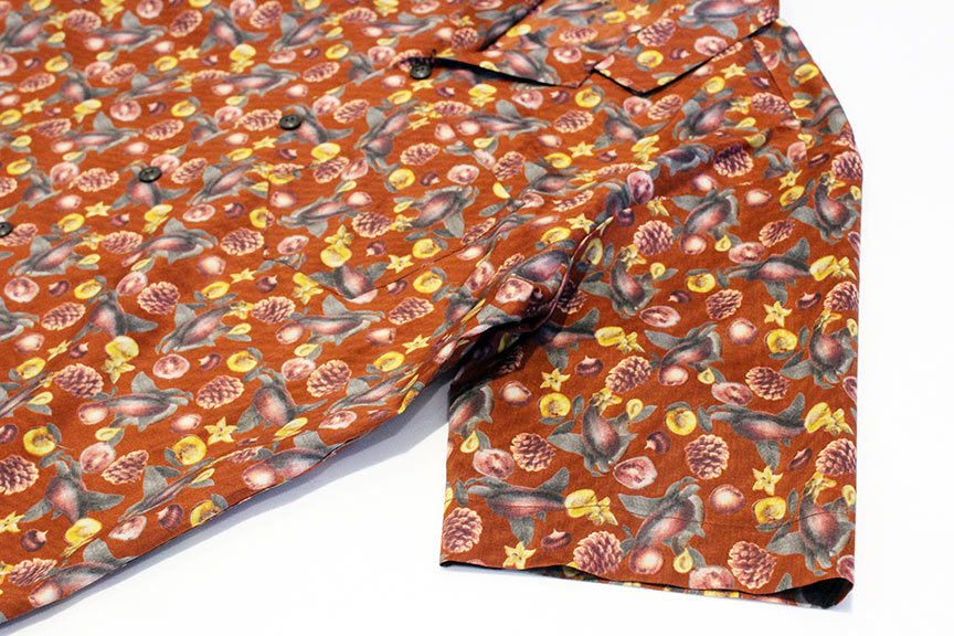 "COOCHUCAMP (クーチューキャンプ) \"" Happy Open Collard Shirts \""_b0122806_12265472.jpg"