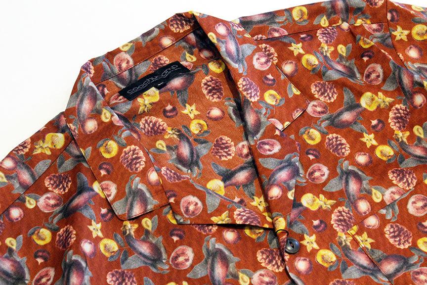 "COOCHUCAMP (クーチューキャンプ) \"" Happy Open Collard Shirts \""_b0122806_12265673.jpg"