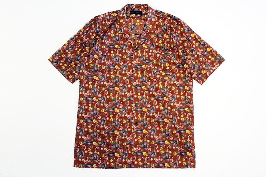 "COOCHUCAMP (クーチューキャンプ) \"" Happy Open Collard Shirts \""_b0122806_12265968.jpg"