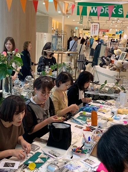 昨日は阪神百貨店ゲストワークでした!_b0310144_16443982.jpg