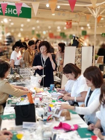 昨日は阪神百貨店ゲストワークでした!_b0310144_16445438.jpg