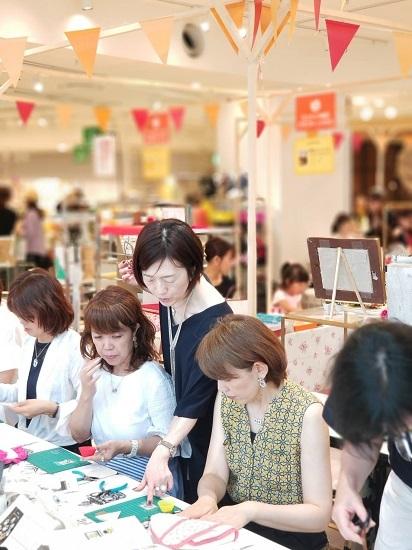 昨日は阪神百貨店ゲストワークでした!_b0310144_16450013.jpg