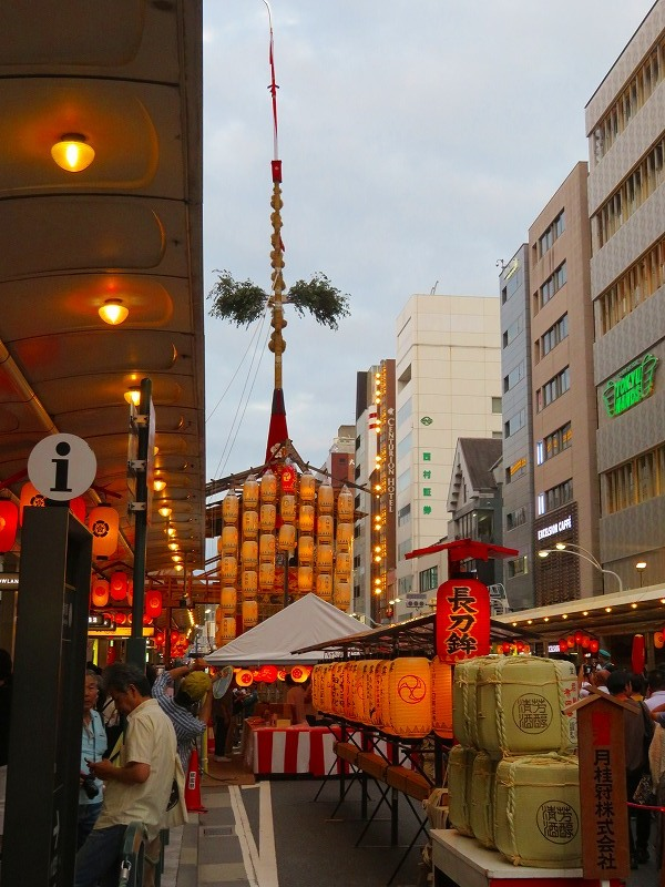 祇園祭「駒形提灯を掲げた山鉾」の紹介20190716_e0237645_21175218.jpg
