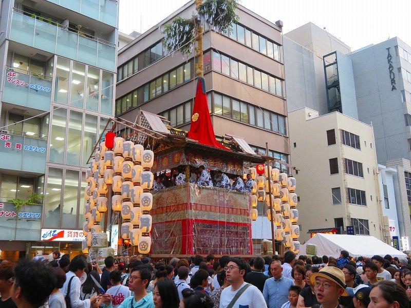 祇園祭「駒形提灯を掲げた山鉾」の紹介20190716_e0237645_21255932.jpg