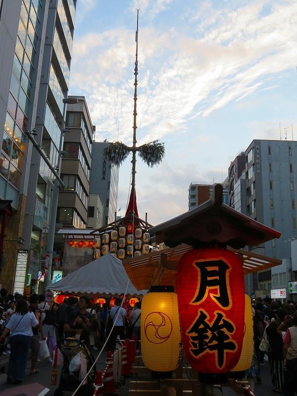 祇園祭「駒形提灯を掲げた山鉾」の紹介20190716_e0237645_21255934.jpg