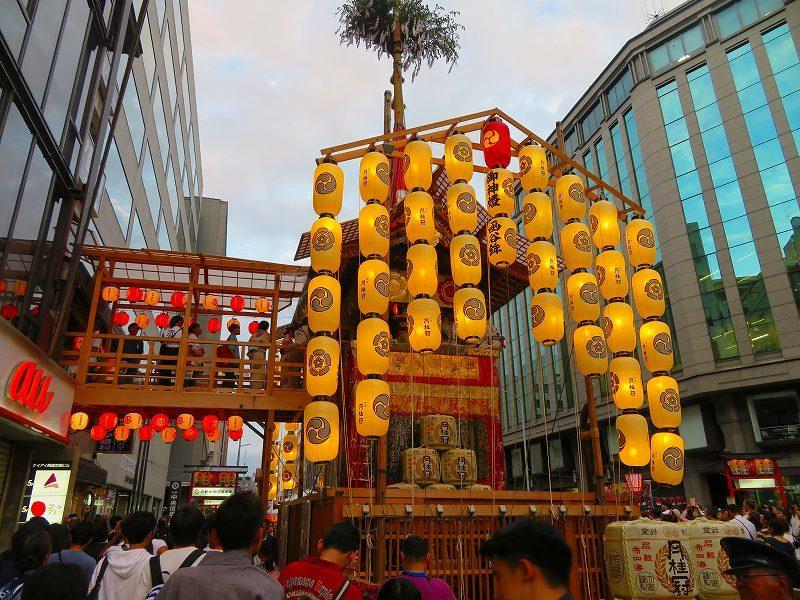 祇園祭「駒形提灯を掲げた山鉾」の紹介20190716_e0237645_21280375.jpg