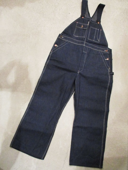 30\'s DEAD STOCK OVERALLS NOS STURDY OAK STRONG RELIABLE_e0187362_18402828.jpg