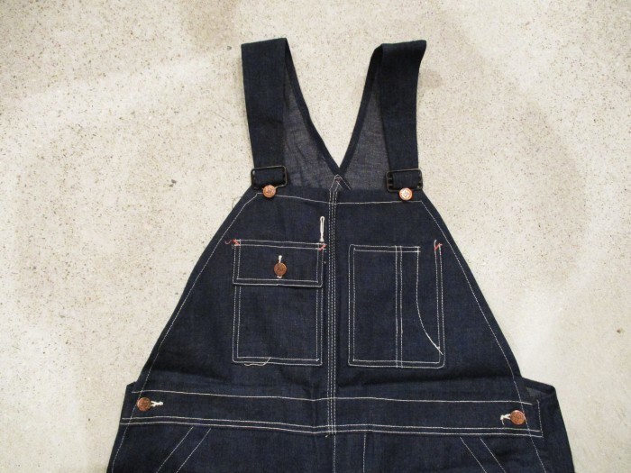 30\'s DEAD STOCK OVERALLS NOS STURDY OAK STRONG RELIABLE_e0187362_18405057.jpg