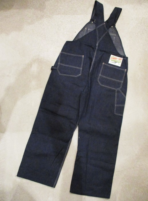 30\'s DEAD STOCK OVERALLS NOS STURDY OAK STRONG RELIABLE_e0187362_18443867.jpg