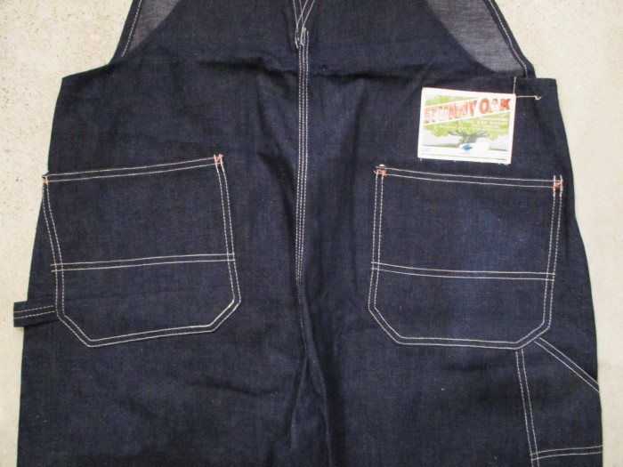 30\'s DEAD STOCK OVERALLS NOS STURDY OAK STRONG RELIABLE_e0187362_18451365.jpg