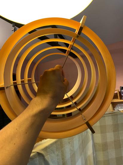 ヤコブセンランプ名作 JAKOBSSON LAMP 照明器具 修理 23_f0053665_12022857.jpg