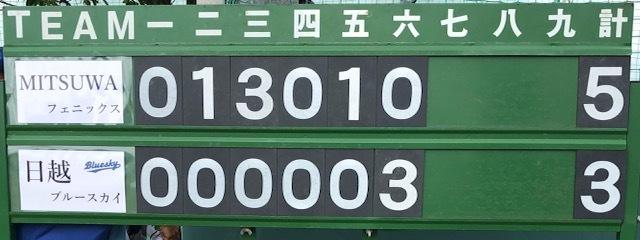 練習試合結果です!vs  MITSUWAフェニックスさん_b0095176_08455899.jpeg