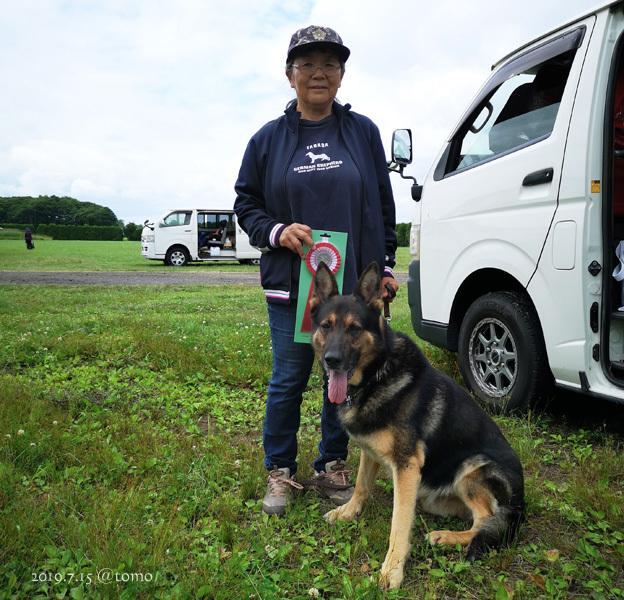 7月15日、JKC北海道ブロック訓練競技会_f0067179_16045945.jpg