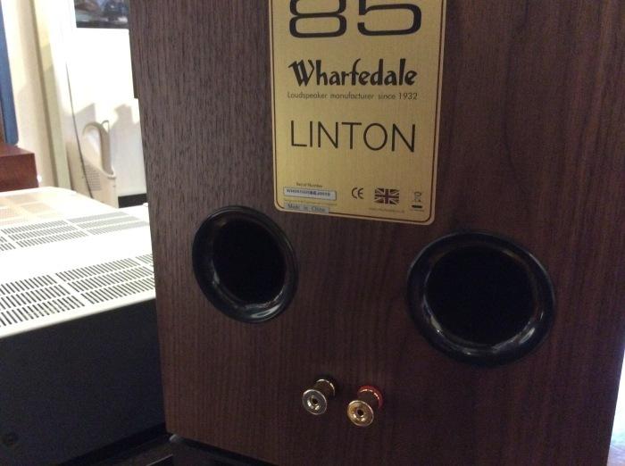 Wharfedale(ワーフェデール)の新製品 LINTON Heritage を試聴いたしました。_b0292692_16513324.jpg