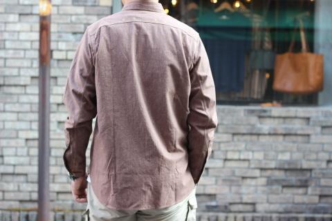 """「WORKERS」 着込むことによる楽しさもある\""""Champion Shirt\"""" ご紹介_f0191324_08192728.jpg"""
