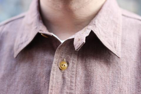 """「WORKERS」 着込むことによる楽しさもある\""""Champion Shirt\"""" ご紹介_f0191324_08193584.jpg"""