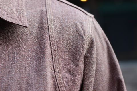 """「WORKERS」 着込むことによる楽しさもある\""""Champion Shirt\"""" ご紹介_f0191324_08195377.jpg"""