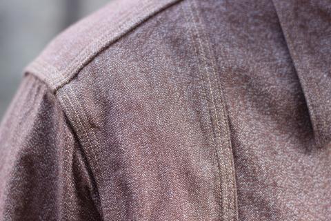 """「WORKERS」 着込むことによる楽しさもある\""""Champion Shirt\"""" ご紹介_f0191324_08205779.jpg"""