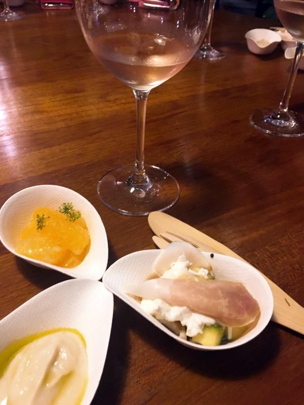 フェラガモ所有のワイナリー「IL Borro」のワインパーティ。_d0041729_21185583.jpg