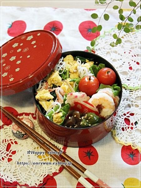 OLさん・ちらし寿司弁当とPCが壊れたお話し・・・♪_f0348032_17473811.jpg
