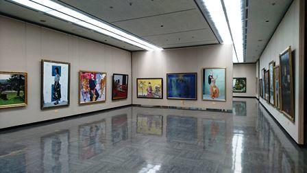 作業日誌(第105回光風会 金沢展作品搬入展示作業)_c0251346_15441955.jpg