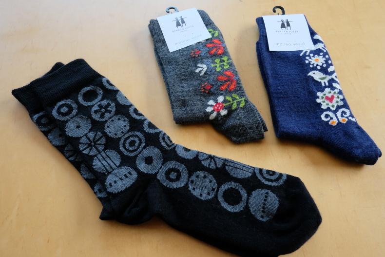 編み込み模様の靴下 編んでみようかな~ _e0225164_15255448.jpg