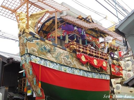 祇園祭 船鉾のちまき 2019年7月16日_a0164068_15551016.jpg