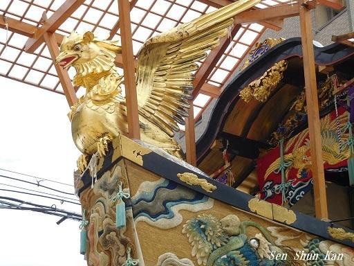 祇園祭 船鉾のちまき 2019年7月16日_a0164068_15551061.jpg