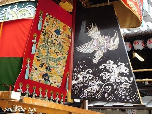 祇園祭 船鉾のちまき 2019年7月16日_a0164068_15573937.jpg