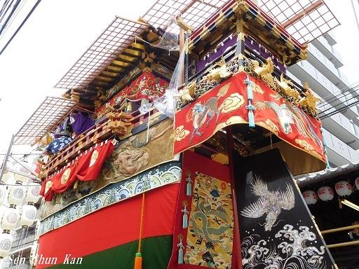 祇園祭 船鉾のちまき 2019年7月16日_a0164068_15573972.jpg