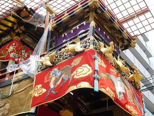 祇園祭 船鉾のちまき 2019年7月16日_a0164068_15573980.jpg