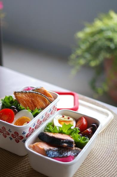 今日の鮭弁当_d0327373_07291486.jpg