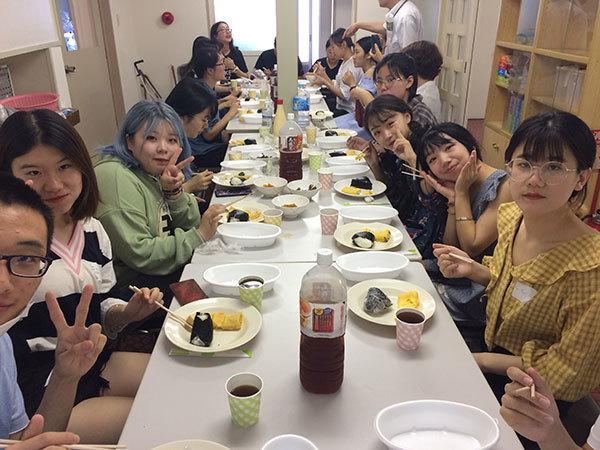 今年も中国からの留学生達_f0101174_19153605.jpg