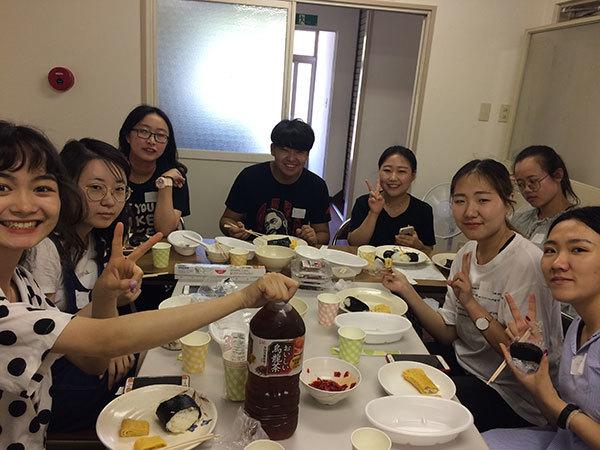 今年も中国からの留学生達_f0101174_19154267.jpg