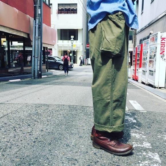 マグネッツ神戸店 ワイドシルエットをミリタリーで楽しむ!_c0078587_15543184.jpg