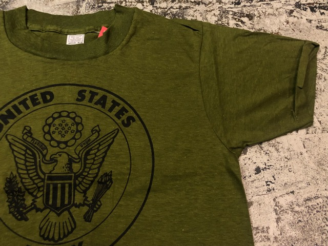 7月20日(土)マグネッツ大阪店スーペリア入荷!!#1  Military DeadStock編!! TigerStripe & 70\'s U.S.Army T-Shirt!!_c0078587_22344374.jpg