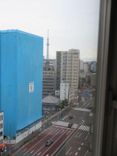 カンデオホテルズ上野公園客室からの東京スカイツリー_c0075701_20430102.jpg