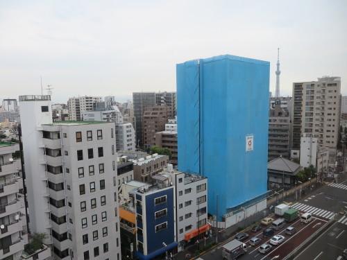 カンデオホテルズ上野公園客室からの東京スカイツリー_c0075701_20432940.jpg