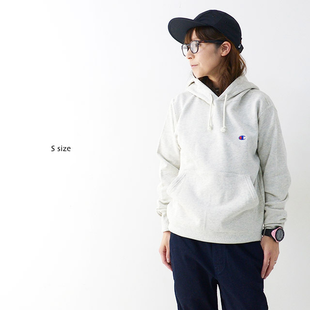 CHAMPION チャンピオン パーカー PULLOVER HOODED SWEATSHIRT ONE POINT [C3-C118] プルオーバー フーデッド /LADY\'S_f0051306_17153121.jpg