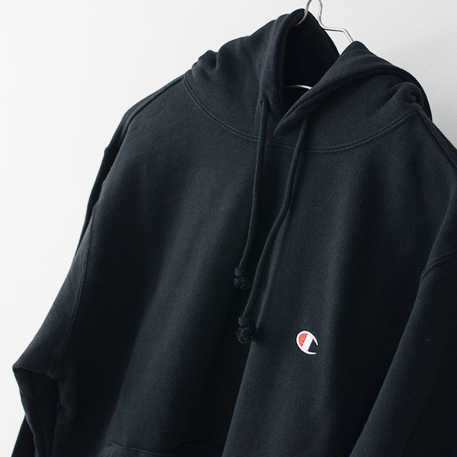 CHAMPION チャンピオン パーカー PULLOVER HOODED SWEATSHIRT ONE POINT [C3-C118] プルオーバー フーデッド /LADY\'S_f0051306_17153144.jpg