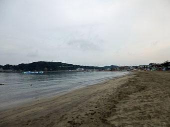 今朝は逗子海岸を走りました。_c0195909_10180868.jpg