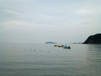 今朝は逗子海岸を走りました。_c0195909_10181376.jpg