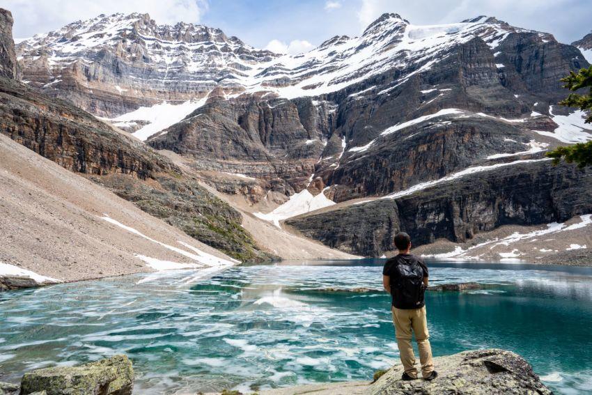 解氷間近の美しすぎる期間限定 レイクオハラ_d0112928_00233081.jpg