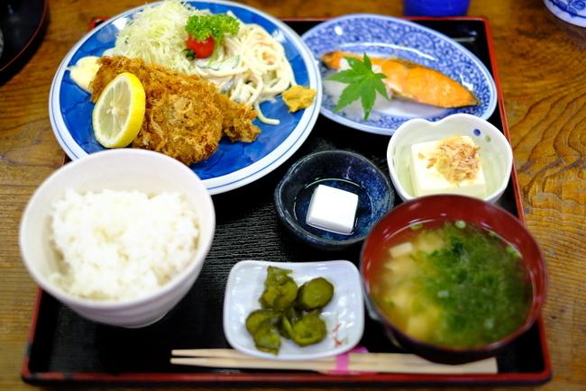 「福島・いわき市 食事処おかめのランチ定食」_a0000029_16185359.jpg