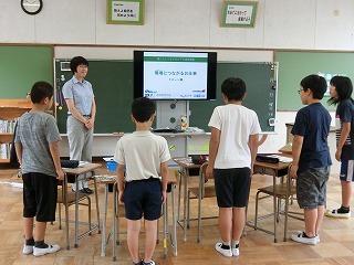 環境につながるシゴトを学ぶ! ドローン編 @清水和田島小学校_d0180132_11240762.jpg