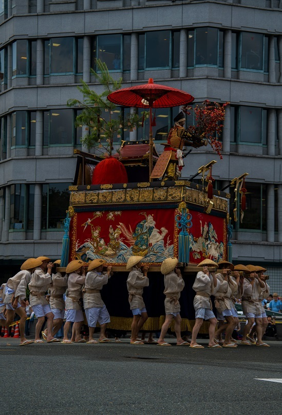 祇園祭・前祭~山鉾巡行(長刀鉾~鶏鉾)_e0363038_11351526.jpg