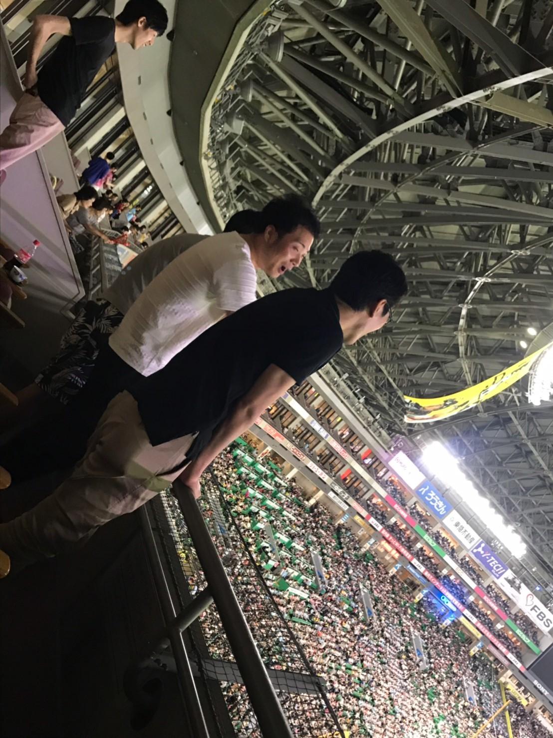 【超リッチ野球観戦】ソフトバンクホークス★スーパーボックス!_b0191255_18540035.jpg