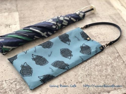 縫わない折りたたみ傘用ミニバッグ_e0040957_10111582.jpeg