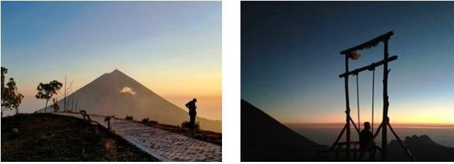 フロレス島の旅(ウォロボボ山の夕焼け)_d0083068_10541931.jpg