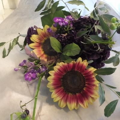 オークリーフ花の教室(落合さんの作品)_f0049672_18330670.jpg